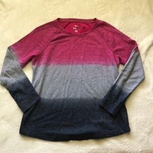 Style & Co. Ombré Essential Sweatshirt